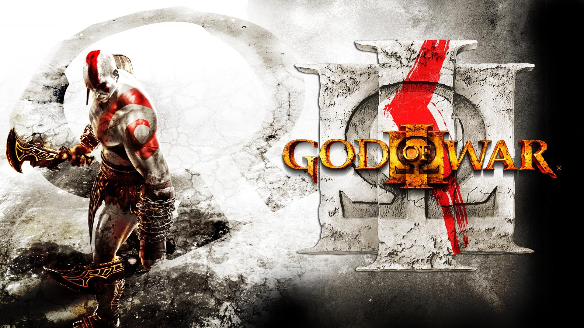 god of war iii kratos eyes hd desktop wallpaper high definition