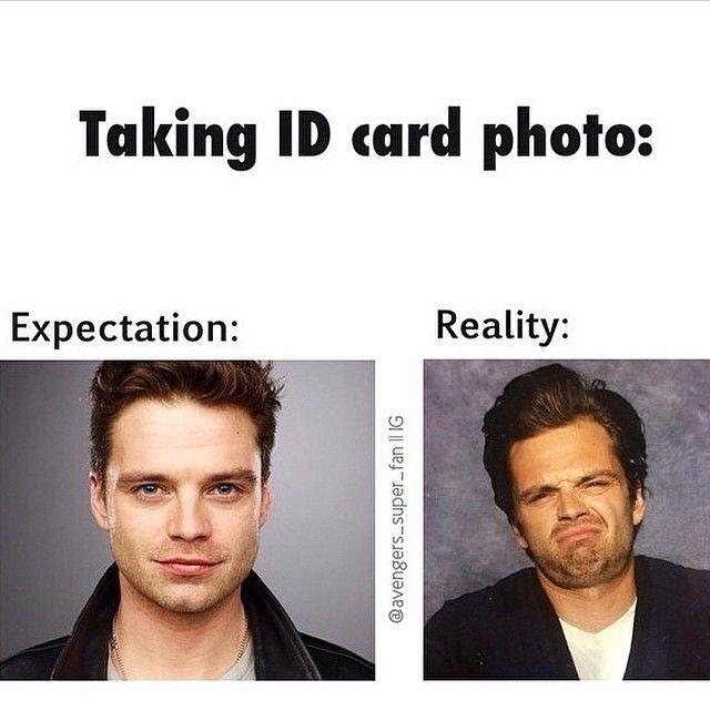 I love you either way Seb // Sebastian Stan  + ID card photos