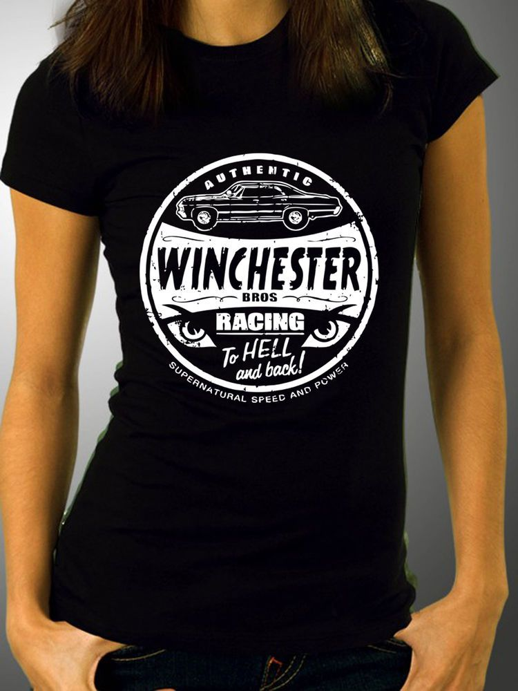 88988812e Supernatural Winchester Bros Racing - Kids and Adults T-Shirts and Hoodies