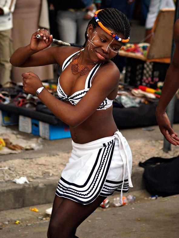 Xhosa Dancer At South Africa S Largest Arts Festival And Second