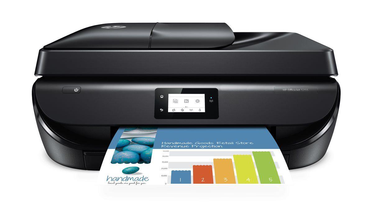 HP OfficeJet 5255 AllinOne Wireless Color Printer