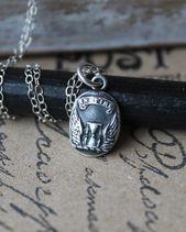 Photo of In Zeit-Sanduhr und Flügeln Feinsilber Charm Sterling Silber Halskette In Zeit …, #Charm …