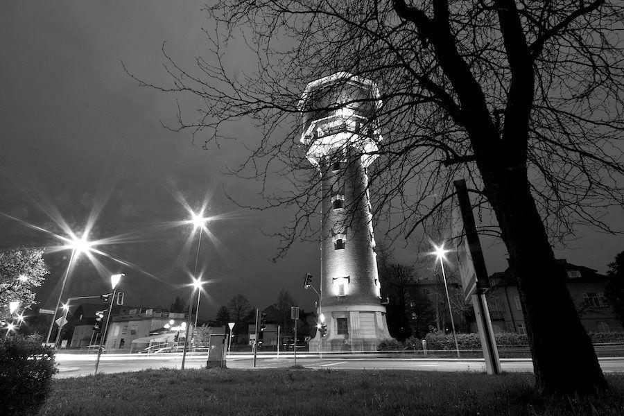 The water tower in Kranj, Slovenija