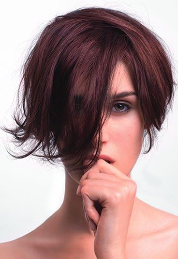 Coupe boule courte coupe de cheveux boule courte
