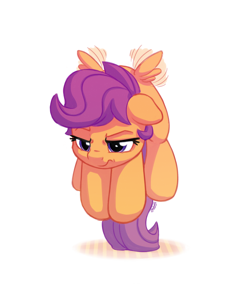 1409841 Artistbobdude0 Cute Cutealoo Female Filly Floating