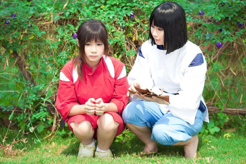 Spirited Away Chihiro N Haku By Studiok2 On Deviantart Spirited Away Costume Spirited Away Cosplay Spirited Away