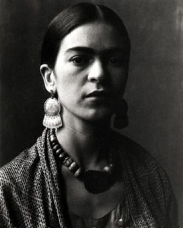"Frida Kahlo, 1931. By Imogen Cunningham                ""I am not sick. I am broken. But I am happy to be alive as long as I can paint."" Frida Kahlo, in Time Magazine, ""Mexican Autobiography"" 1953"