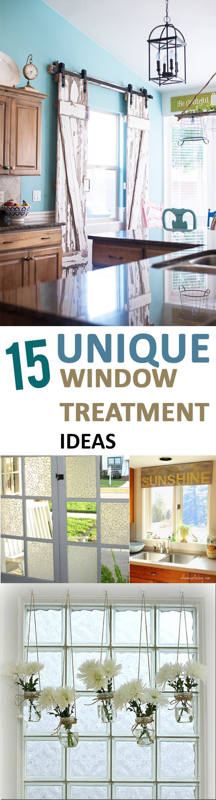 These perfect window treatment ideas are sure to spice up any room