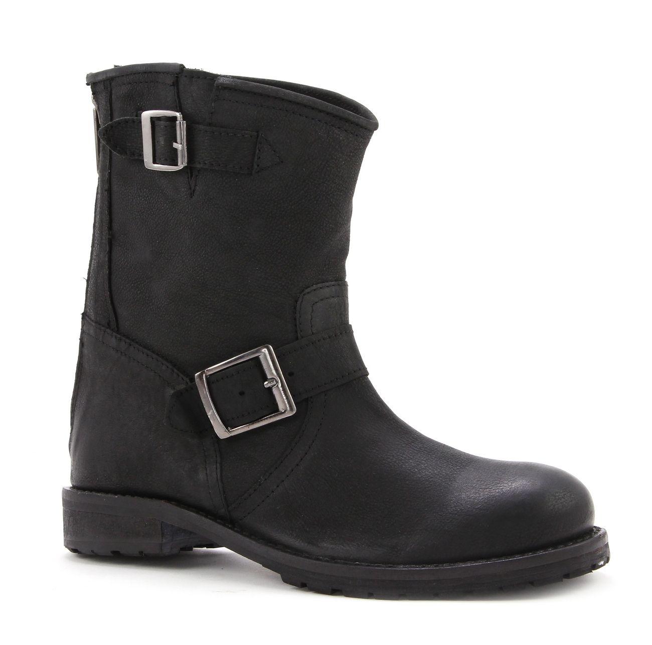 Zwarte OMODA Biker boots 14081 | Shoes Korte laarzen