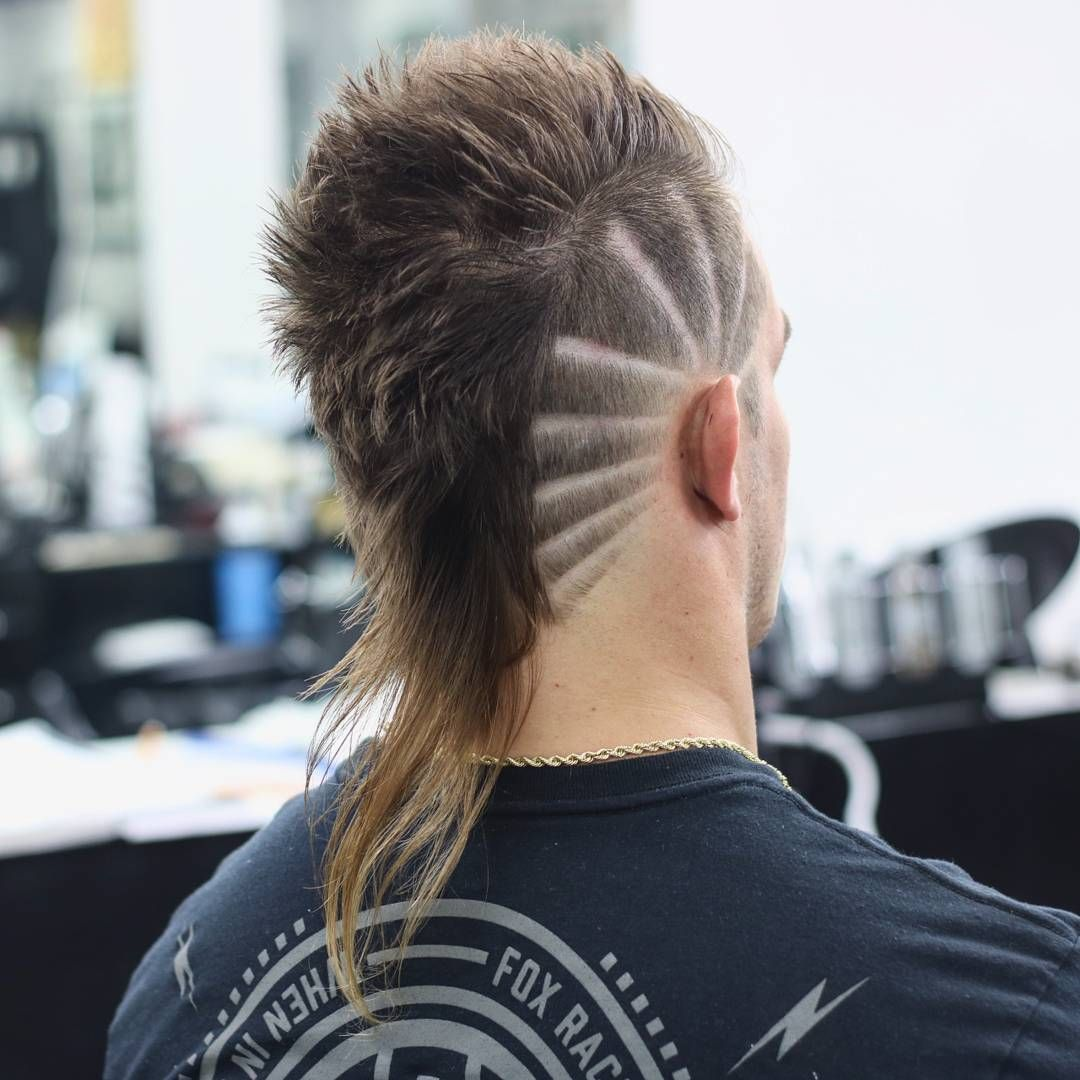 25 Mullet Haircuts That Are Awesome Super Cool Modern For 2020 Mohawk Hairstyles Men Mullet Haircut Mullet Hairstyle
