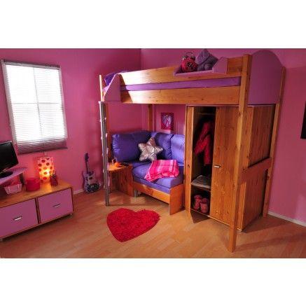 Stompa Casa 10 High Sleeper Bed Childrens Beds Kid Beds Kids Bunk Beds