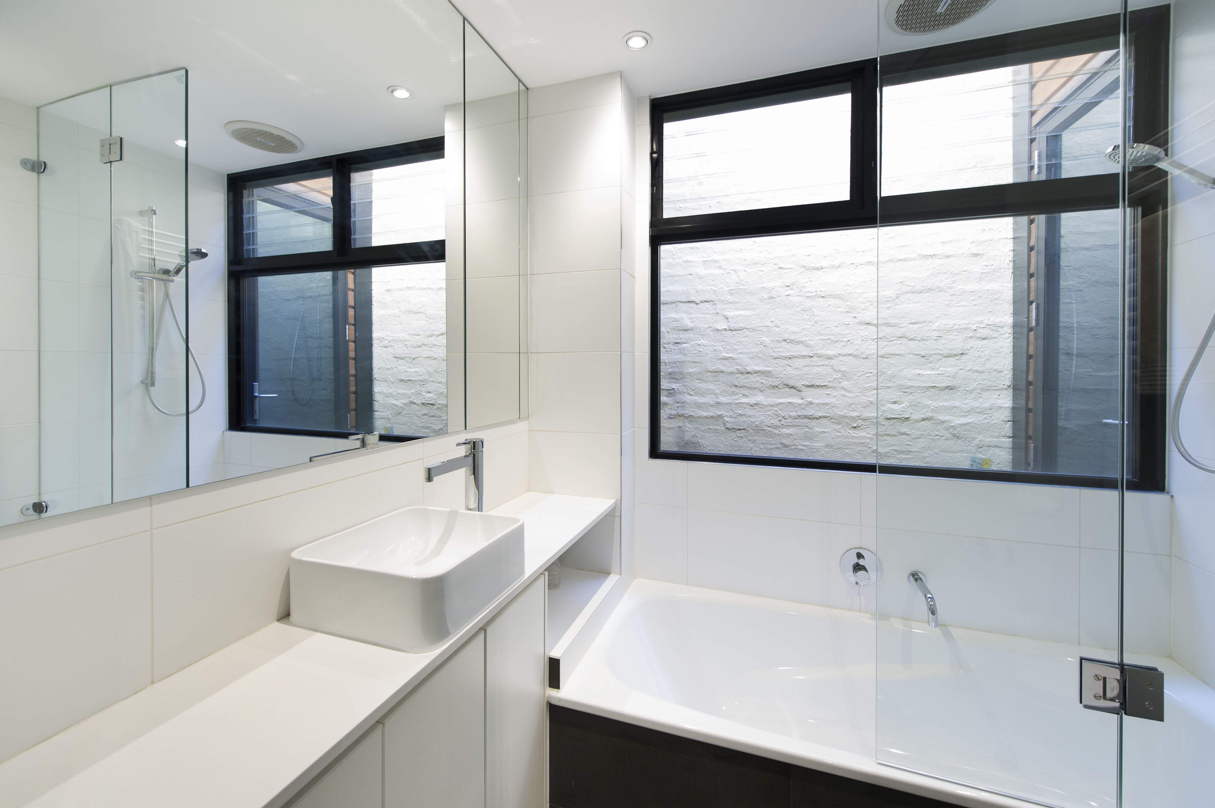 Light and open bathroom   South Melbourne House 3   Pinterest   Open ...