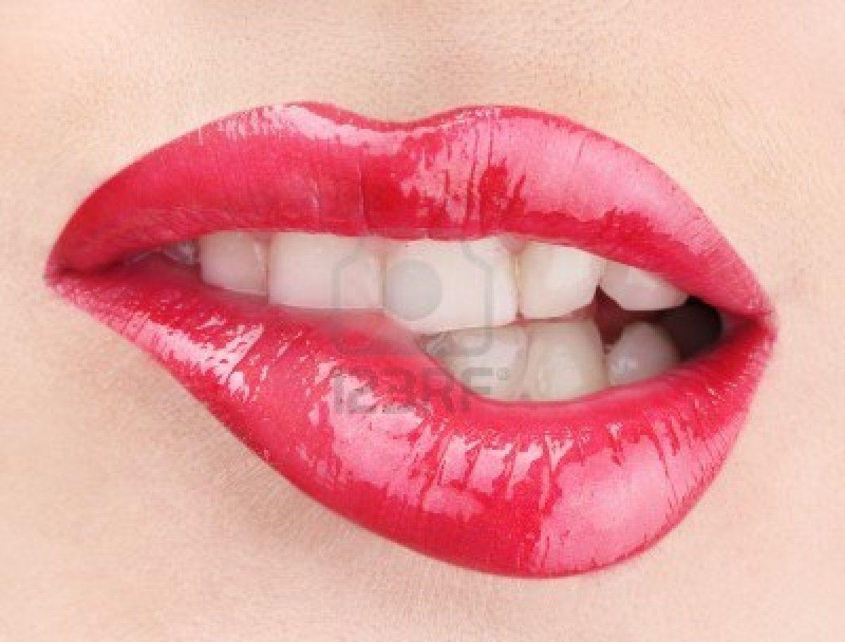 Hermosa Composicion De Glamour Brillo Labios Rojos Lips Bright Lips Hot Lips