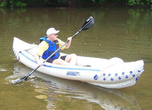 Sea Eagle 370 Pro Solo Package Best fishing kayak