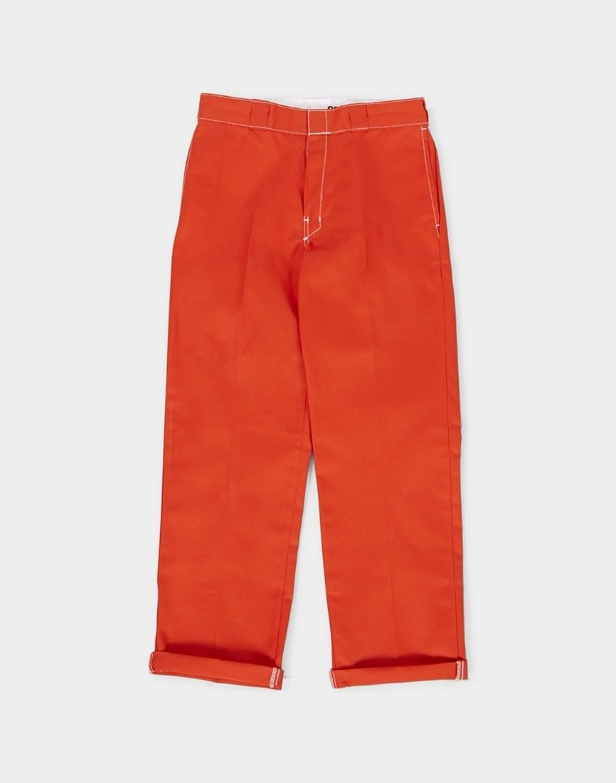 Dickies 874 original fit contrast work pant orange