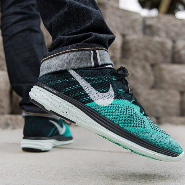 newest 2f6ad 9ccd1 Nike Lunar Flyknit 3  Black Turquoise