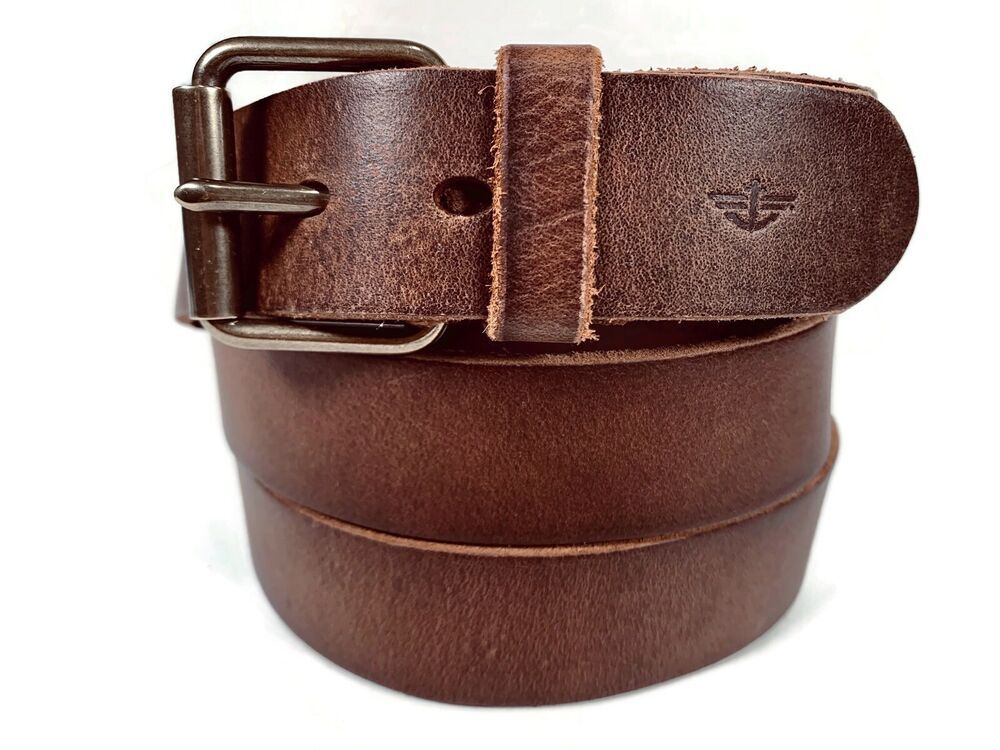 Details about NEW Belt By Dockers Brown Size 56 Genuine