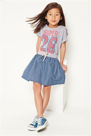 Sliczna Jeansowa Spodniczka Falbany Panterka Cetki 3996042745 Allegro Pl Wiecej Niz Aukcje Fashion Latest Fashion For Women Clothes