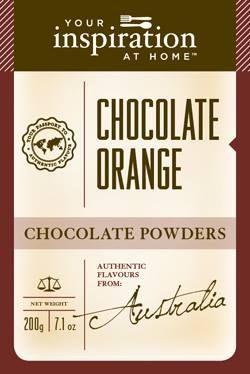 Chocolate Orange Chocolate Powder #yiah #chocolate
