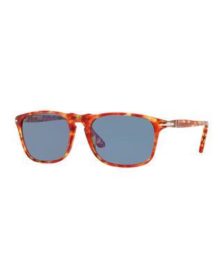 aa105ffd7a9fa Persol Men s PO3059S Square Acetate Sunglasses