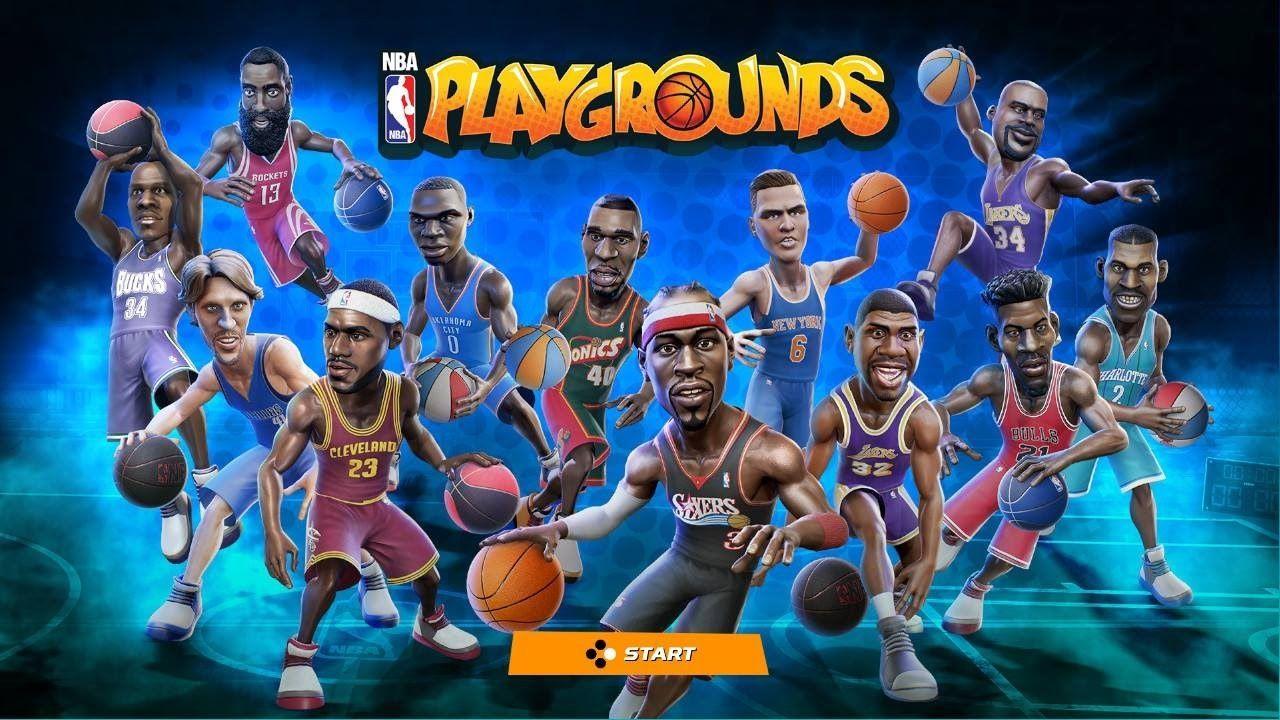Arcade NBA Playgrounds Exhibition Match Nba, Gaming pc