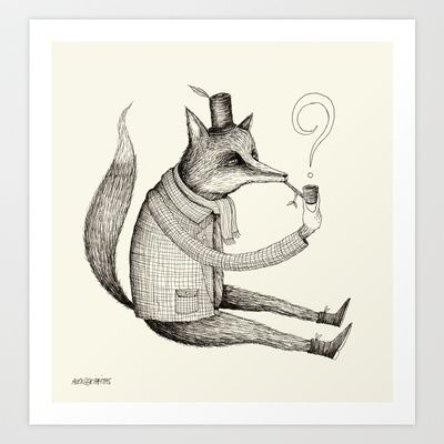 'Theories'  Art Print by Alex G Griffiths - $19.00