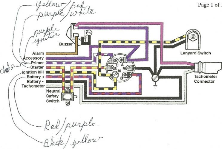 Ignition Switch Troubleshooting Wiring Diagrams Kill Switch Mercury Outboard Boat Wiring