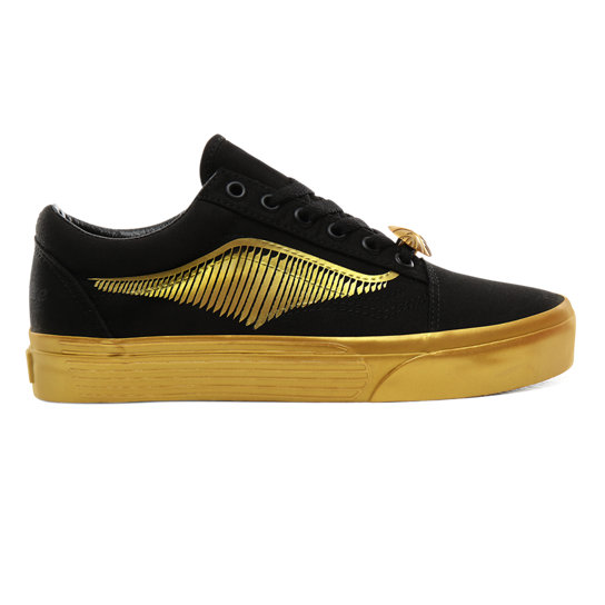 Vans x HARRY POTTER™ Golden Snitch Old Skool Shoes | Black