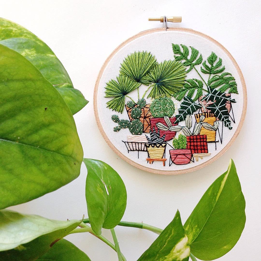 "Making mini jungles."" Mais | coats/jackets | Pinterest | Stickerei ..."