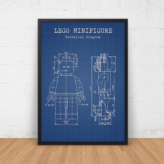 Lego blueprint art download lego minifigure print lego poster lego blueprint art download lego minifigure print lego poster lego toys kids malvernweather Images