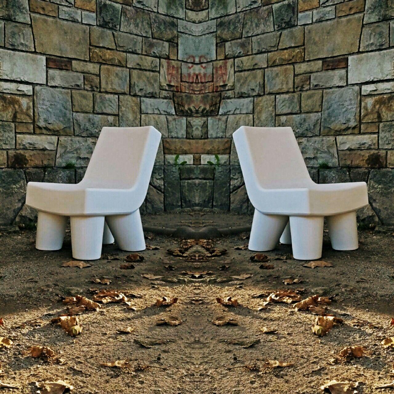 Twins Elephants Sillones Rotomoldeados Para Interior Y Exterior  # Muebles Rotomoldeados