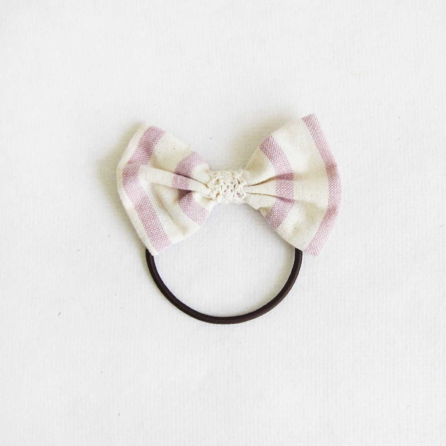 Handmade Bow Hair Bands Natural Dyed Cotton-A106-www.tanbagshop.com