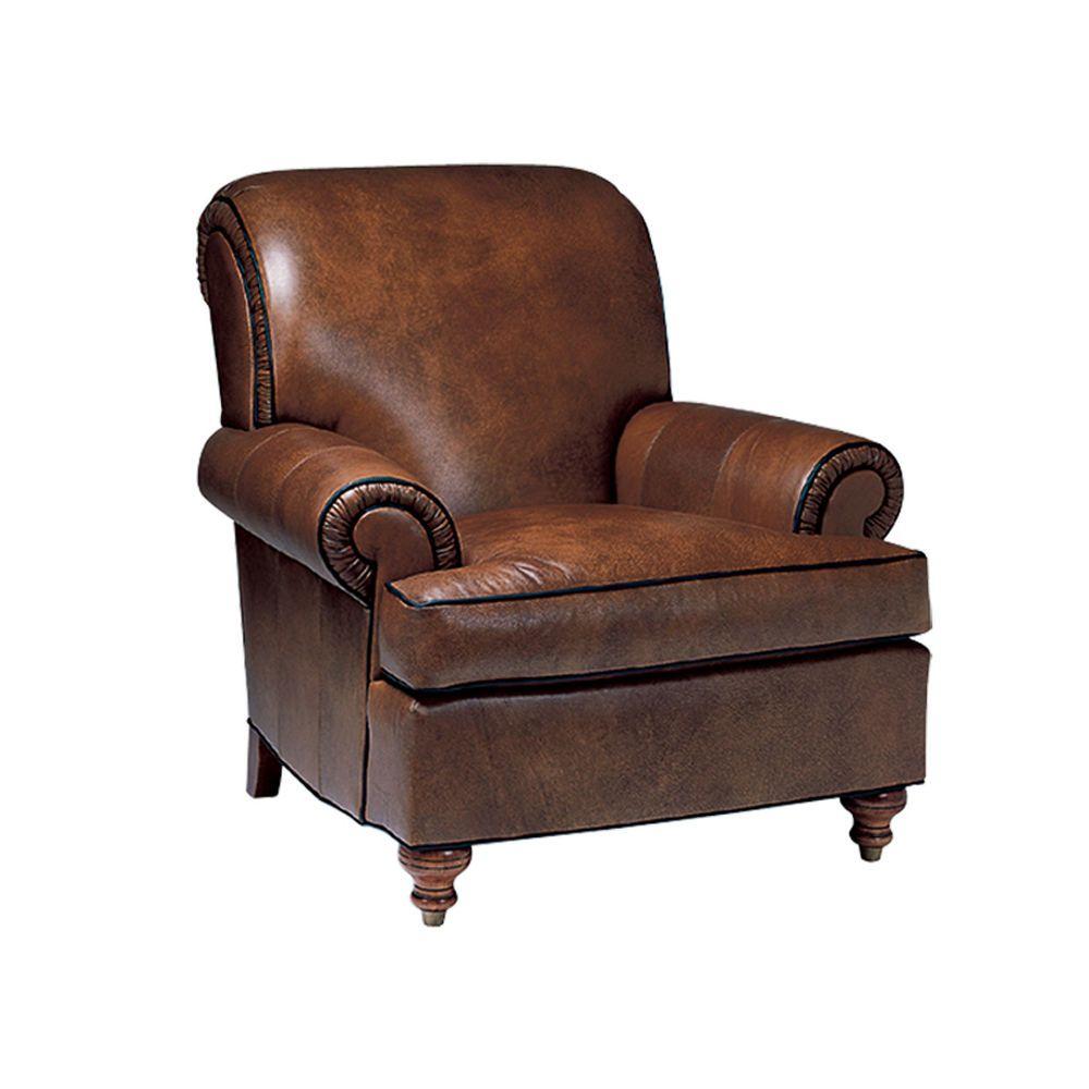 Kensington Leather Chair   Ethan Allen US