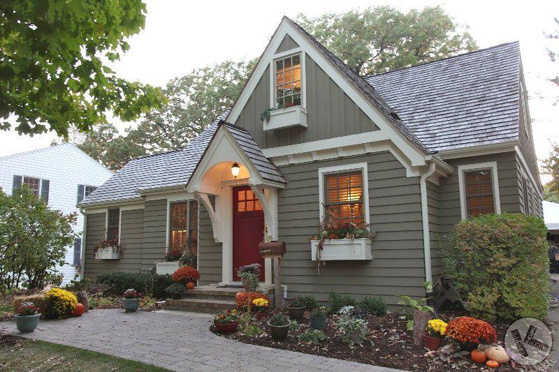 Cement Fiber Siding House Paint Exterior Small House Exteriors House Exterior Color Schemes