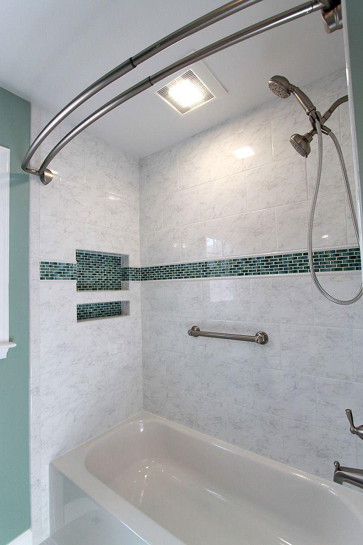 Finished Bathtub Lee Full Bathroom Remodel Pinterest Bathroom - Gainesville bathroom remodel
