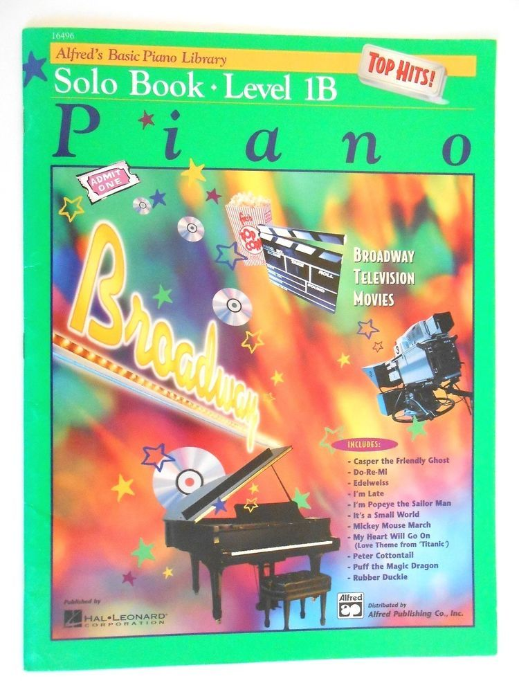 Details about Alfred's Basic Piano Library Duet Book Level 1B 17165