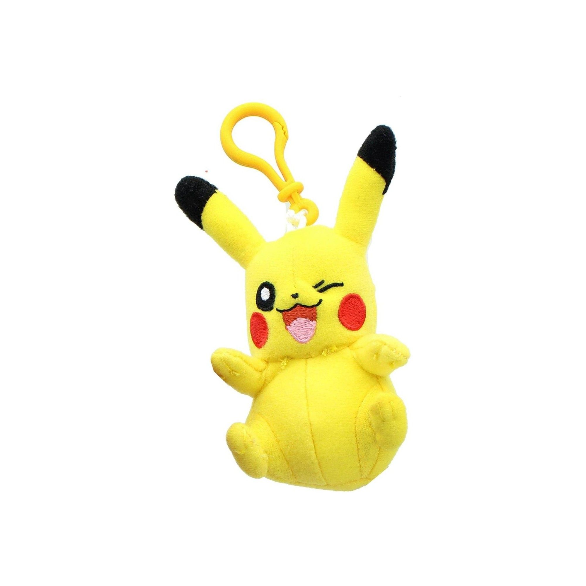 Pikachu Pokemon 3 Inch Plush Clip On
