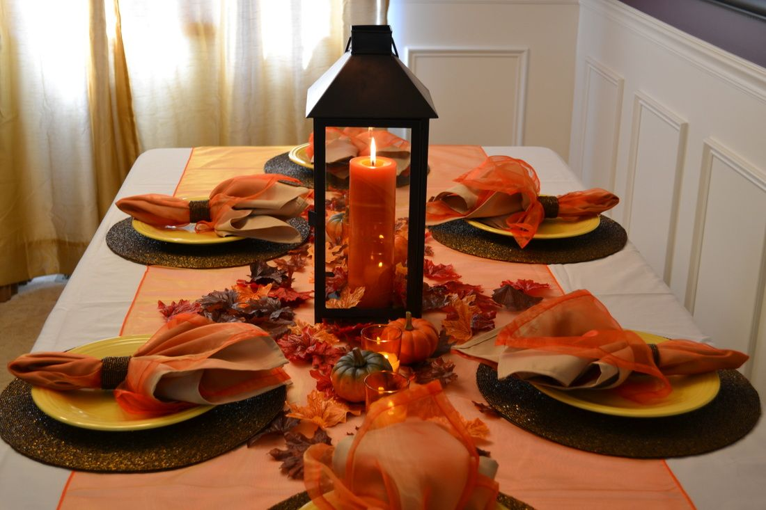 Furniture And Accessories Fancy Unique Thanksgiving Table - Colorfulfall table decoration halloween party decorations thanksgiving table centerpieces