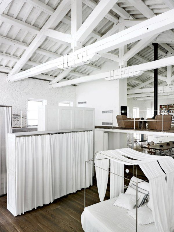 Industrial design by Paola Navone | A white home in Italy | Part II ...