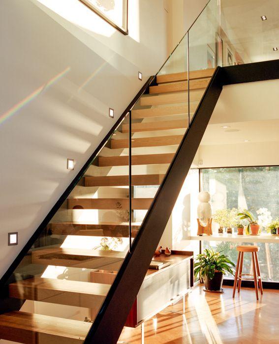 garde corps escalier plexi. Black Bedroom Furniture Sets. Home Design Ideas