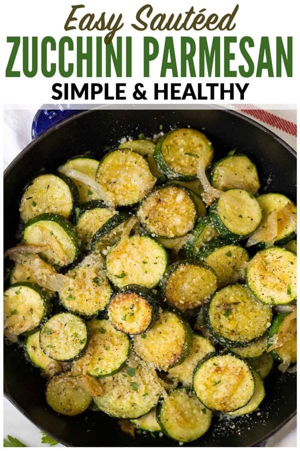Easy Sautéed Zucchini with Onions and Parmesan Golden delicious zucchini and squash cooked with butter garlic and your favorite seasonings Healthy and simple its t...