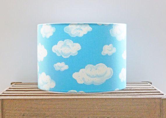Cloud Ceiling Shade 30cm Drum Light Shade Handmade In The Uk Ceiling Shades Drum Light Cloud Ceiling