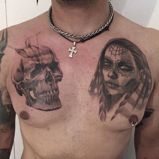 Gangster Tattoos Design Ideas For Men