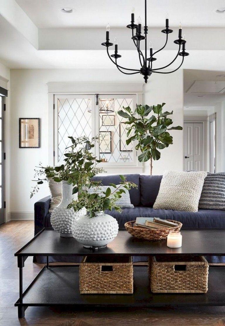 20+ Amazing Farmhouse Living Room Decor Ideas  Decoration salon