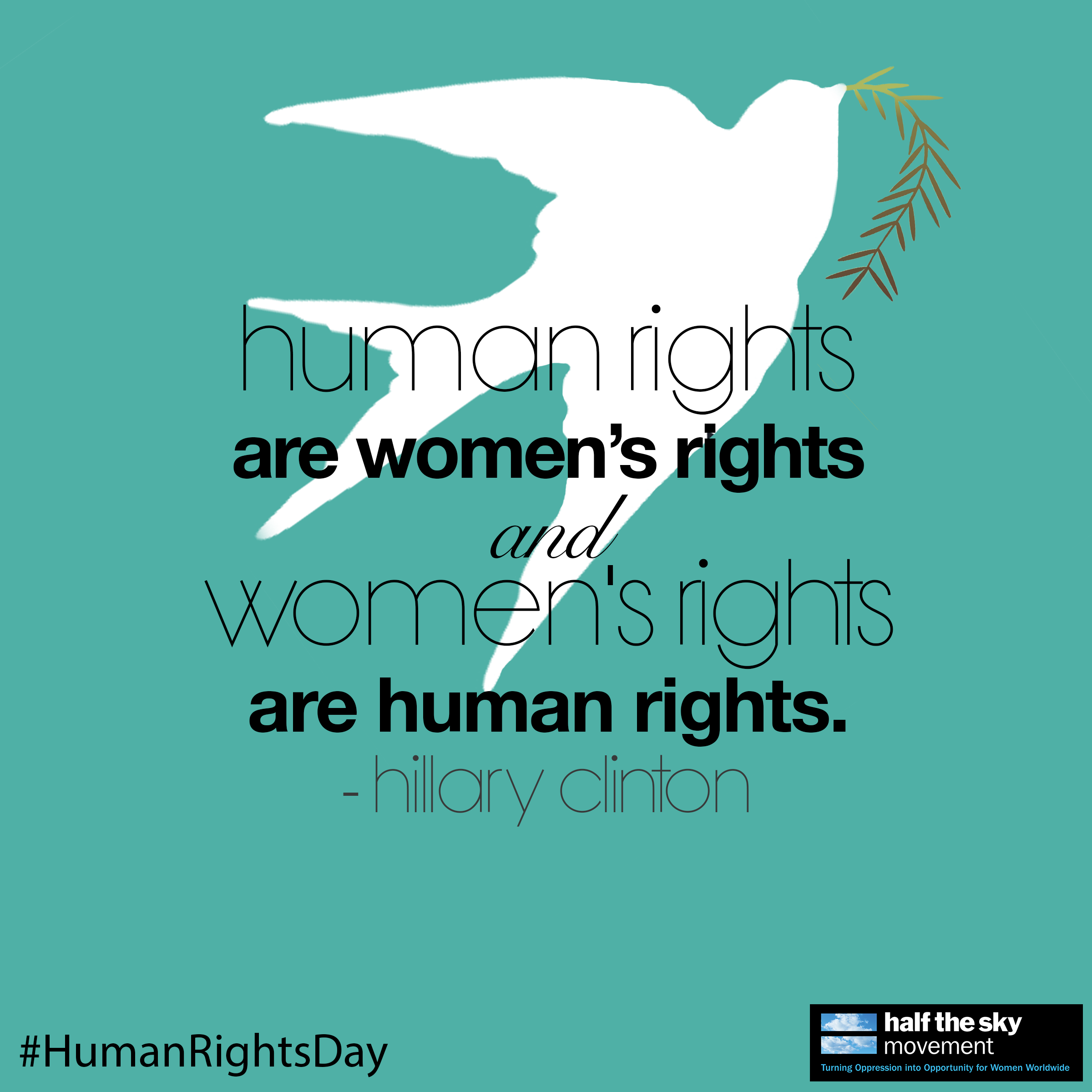 "Womens Rights Quotes Quote ""human Rights Are Women's Rights And Women's Rights Are"