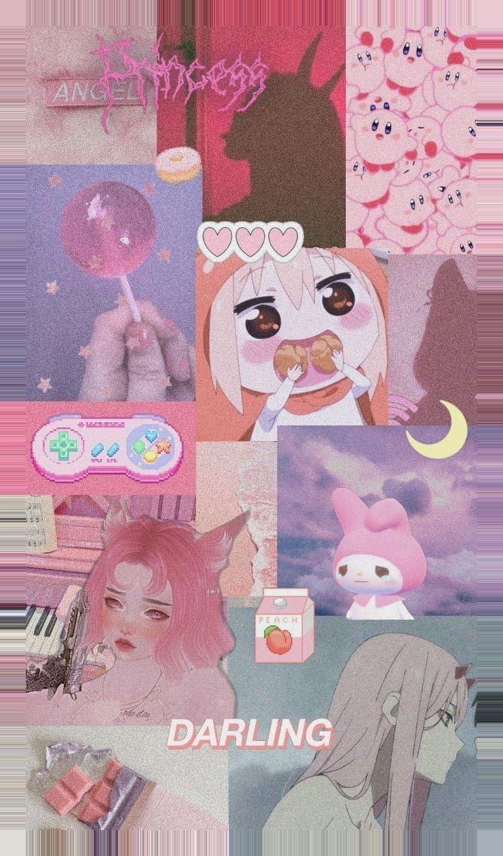 Pin On Moi Oboi Cute anime wallpaper collage