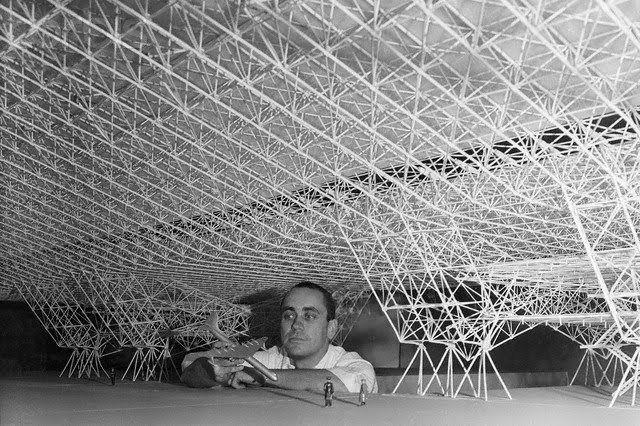 Konrad wachsmann developed a mobile aircraft hangar for the atlas aircraft corporation he would - Mobel wachsmann ...