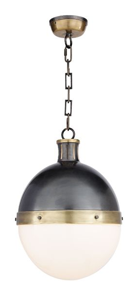 Circa Lighting Large Hicks Pendant Item Tob5063 Designer Thomas O Brien Height 17 1 2 Width 12 Canopy 4 3 Round Chain Ships With 6 Ft Of