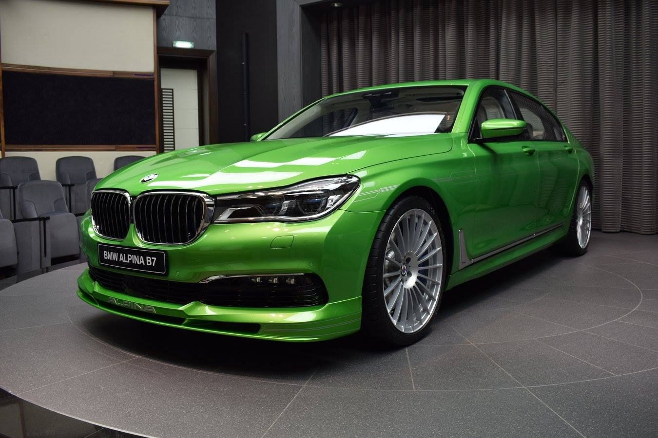 Java Green BMW Alpina B7 Is an Unexpected Choice | Amazing