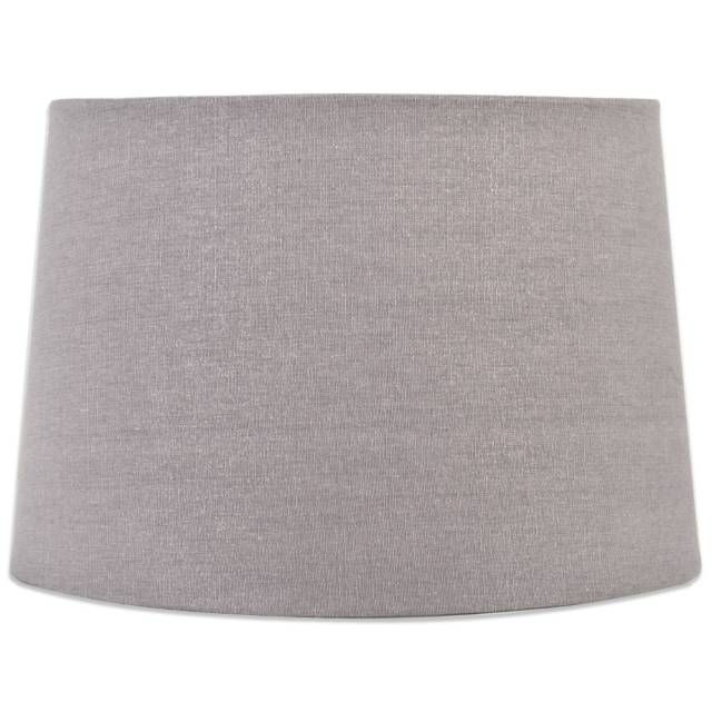 Lamp Shades Bed Bath And Beyond Mix & Match Large 15Inch Sparkle Drum Lamp Shade In Grey  More